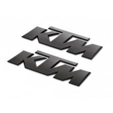 Abtibilde KTM negru 3D